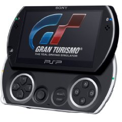 PlayStation Portable Konsole PSP Go! Piano Black