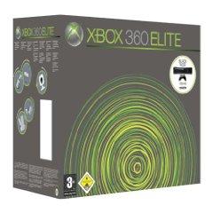 Xbox 360 Konsole Elite schwarz inkl. 120 GB Festplatte