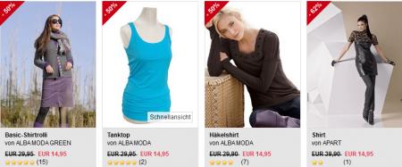 huge discount b680a b3892 Sale + 20€ Gutschein (MBW 50€) für alle Neukunden von alba ...
