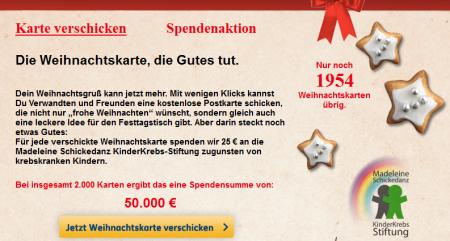 Weihnachtskarten Spende.Für Facebook User Weihnachtskarte Versenden Und Kostenlos 25