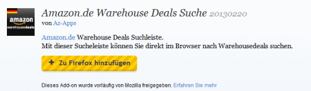 Was ist ein warehouse deal