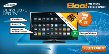 samsung ue42f5370 42 led backlight fernseher mit dvb t c s2 und smart tv ab 399. Black Bedroom Furniture Sets. Home Design Ideas