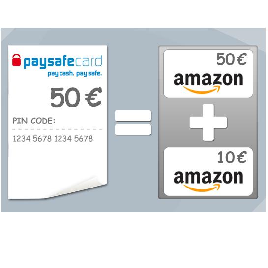 Mit Amazon Gutschein Paysafecard Kaufen