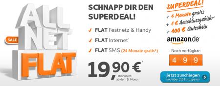 allnet flat sms flat 500mb internet flat f r effektiv 12 46 monat bei simyo. Black Bedroom Furniture Sets. Home Design Ideas