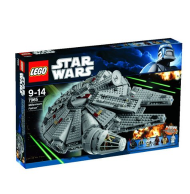 lego star wars 7965 millennium falcon f r 99 90 bei real oder mit gutschein g nstiger. Black Bedroom Furniture Sets. Home Design Ideas
