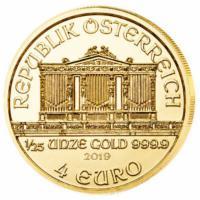 1/25 oz Gold Wiener