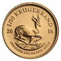 1/50 oz Gold Krügerrand