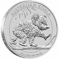 1 Kilo Silber Koala 30