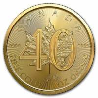 1 oz Gold 40 Jahre Maple
