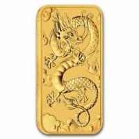 1 oz Gold Dragon 2019