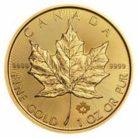 1 oz Gold Maple Leaf 2018
