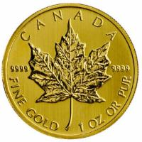 1 oz Gold Maple Leaf - 50