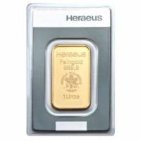 1 oz Goldbarren Heraeus