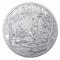 1 oz Silber Känguru 2019