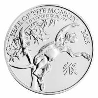 1 oz Silber Lunar II Jahr