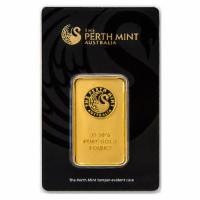 1 oz Goldbarren Perth