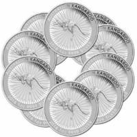 10 x 1 oz Silber Känguru