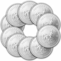 10 x 1 oz Silber