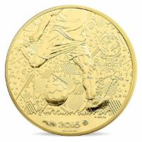 100 Euro Gold UEFA