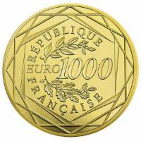1000 Euro Gold Frankreich