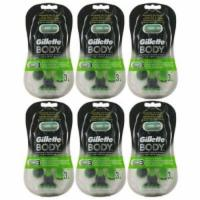 18 Gillette Body Rasierer