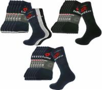 18er Pack Lotto Socken