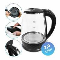 2 Liter Glas Wasserkocher