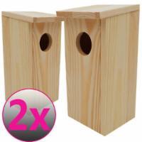 2x Nistkasten Vogelhaus