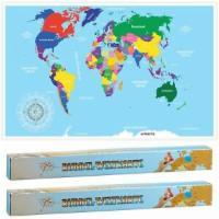 2x Rubbel Weltkarte