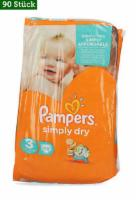 2x45 Stk.Pampers Windeln