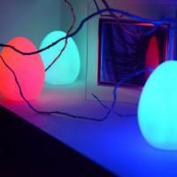 3er-SET LED-Eier /