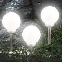 3er-Set LED Solarleuchte