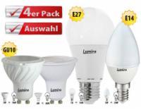 4x Lumira E14 LED SMD