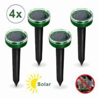 4x Solar Maulwurfschreck