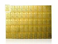 50g Gramm Goldbarren