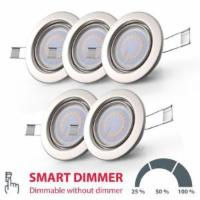 5x LED Einbau-Strahler