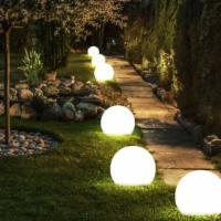 6-er Set LED SOLAR Lampen