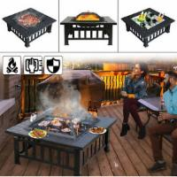 80cm Feuerschale BBQ