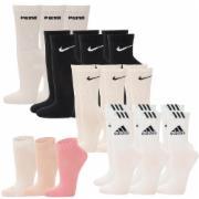 9 Paar Puma Nike od.
