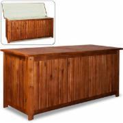 Auflagenbox Holztruhe