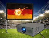 Beamer Set Fußball WM