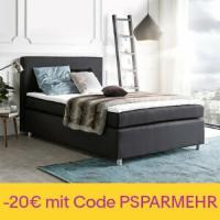 Bett Paradizo Schwarz