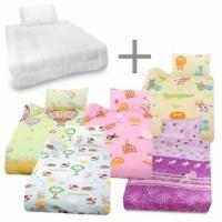 Bettwäsche und Betten