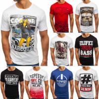 BOLF Herren T-Shirt Tee