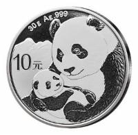 China Panda 10 Yuan 2019