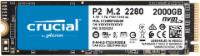 CRUCIAL P2, 2 TB, SSD,