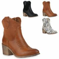 Damen Cowboy Boots