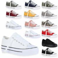Damen Plateau Sneaker