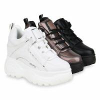 Damen Sneaker Wedges