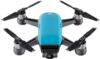DJI Spark Sky Blue Drohne